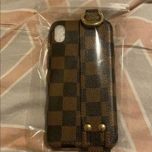 Brand new checkered phone case iPhone XR